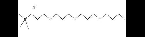 structural-formula-hexadecyl-trimethyl-ammonium-chloride